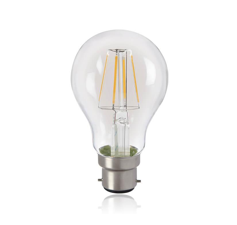 LED Filament Lamp 4W A60 WW B22