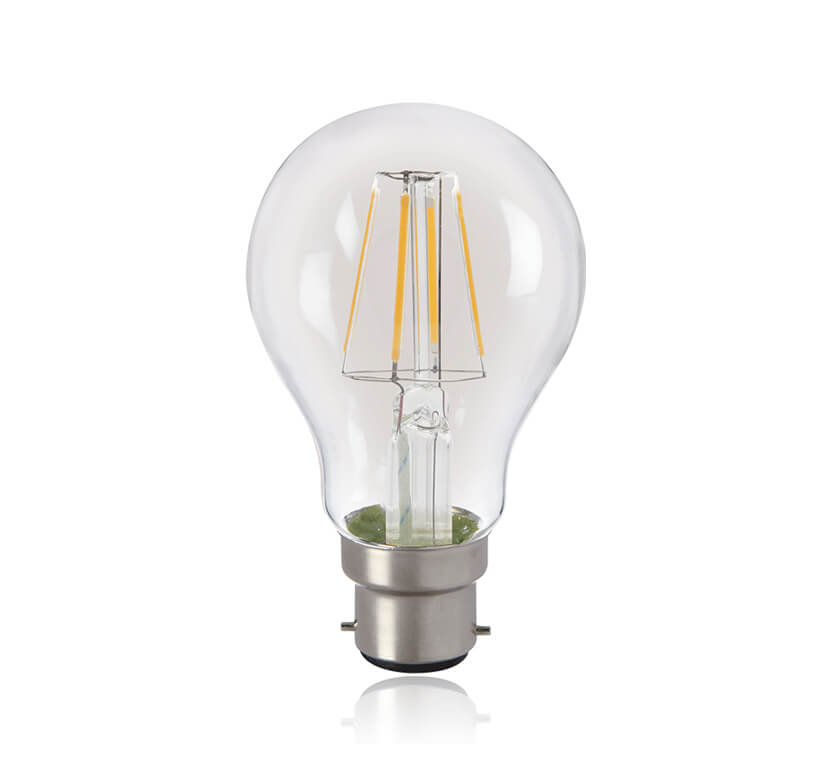 LED Filament Lamp 2W A60 WW B22