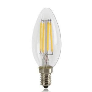 LED Filament Lamp 2W Candle WW E14