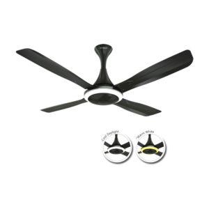 Urbane 1320 mm Black Nickel Fan