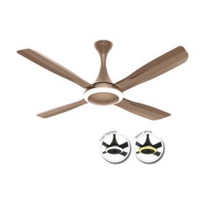 Urbane 1320 mm Brushed Nickel Fan